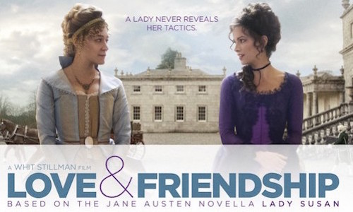 love & friendship simple landscape poster 500