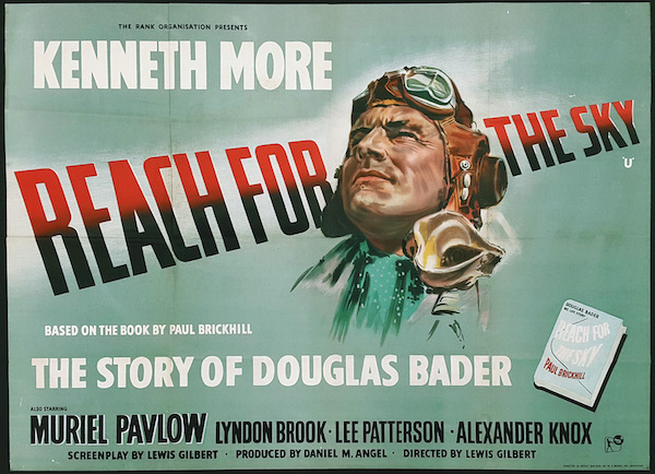 Reach For The Sky (1956 UK) Cert  U - The David Lean Cinema