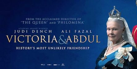 Victoria and Abdul movie poster