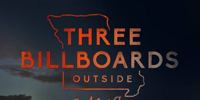 Three Billboards movie poster