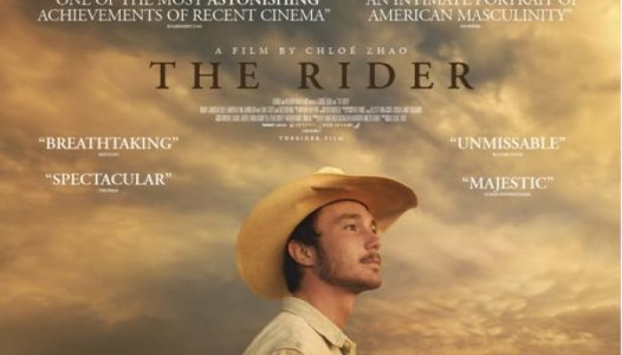 THE RIDER - Tuesday 09 October 2018 at 7.30pm