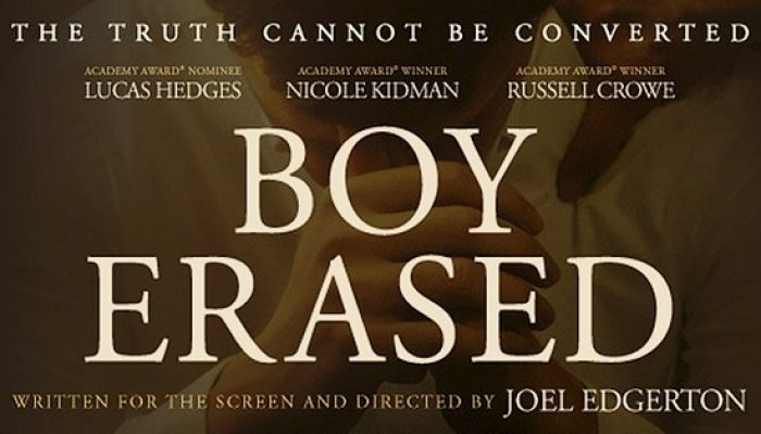 BOY ERASED - Tuesday 26 March 2019 at 7.30pm