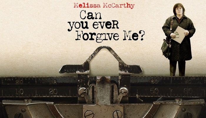 CAN YOU EVER FORGIVE ME? - Wednesday 27 March 2019 at 7.30pm