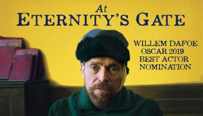 AT ETERNITY'S GATE - Thursday 09 May 2019 at 2.30pm and 7.30pm
