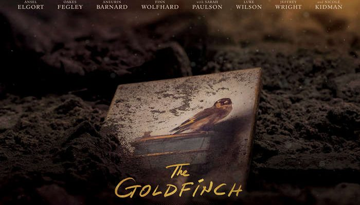 THE GOLDFINCH - Thursday 24 October 2019 at 2.30pm and 7pm