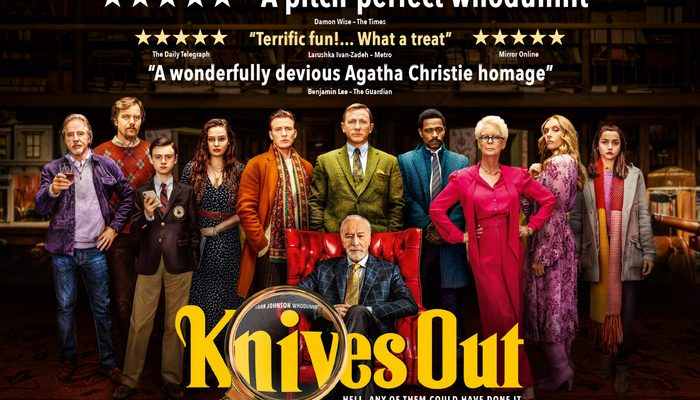 KNIVES OUT - Thursday 30 January 2020 at 2.30pm and 7.30pm