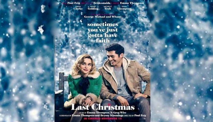 LAST CHRISTMAS - Thursday 19 December 2019 at 2.30pm