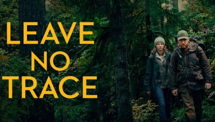 LEAVE NO TRACE - Tuesday 21 August 2018 at 7.30pm