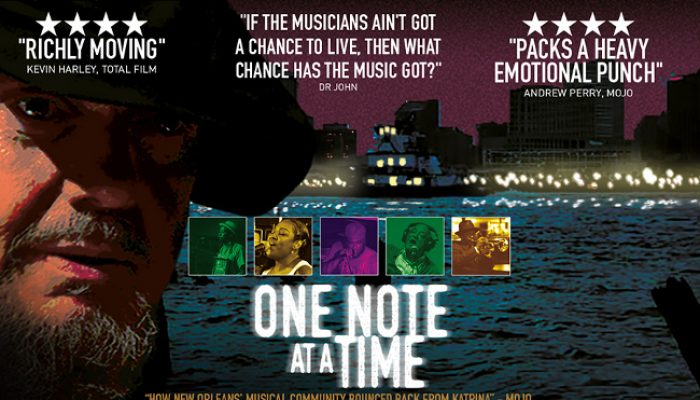 ONE NOTE AT A TIME - Tuesday 16 October 2018 at 7.30pm