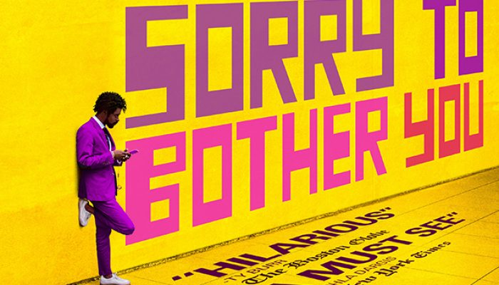 SORRY TO BOTHER YOU - Tuesday 22 January 2019 at 7.30pm