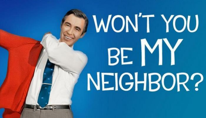 WON'T YOU BE MY NEIGHBOUR - Thursday 24 January 2019 at 2.30pm and 7.30pm