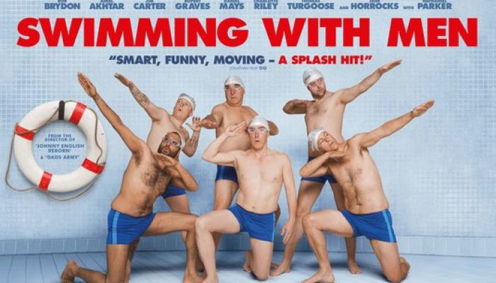 SWIMMING WITH MEN - Thursday 23 August 2018 at 2.30pm and 7.30pm
