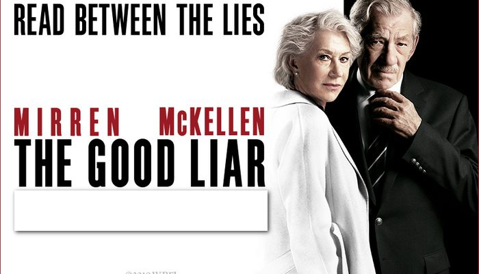 THE GOOD LIAR - Thursday 02 January 2020 at 2.30pm and 7.30pm