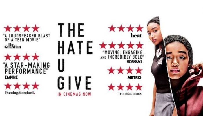 THE HATE YOU GIVE - Tuesday 11 December 2018 at 7.30pm