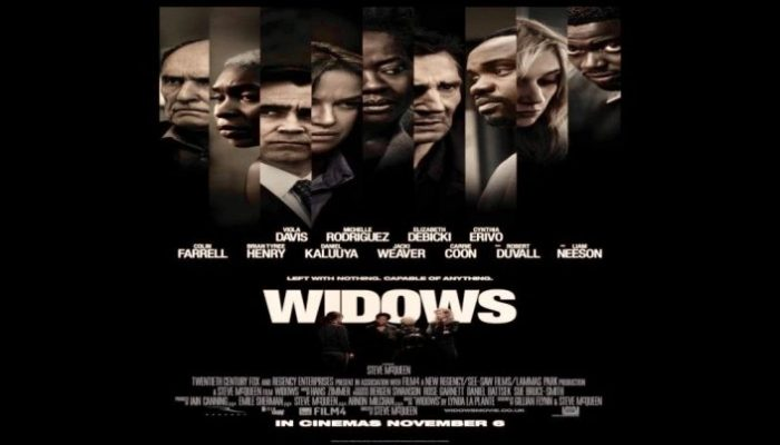 WIDOWS Thursday 03 January 2019 at 2.30pm and 7.30pm